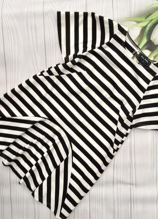 Классное платье в полоску