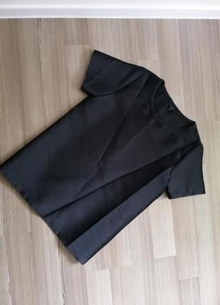 Шикарная, шелковая блуза туника cos,оверсайз размер xs,s, m,8, 10,36,38