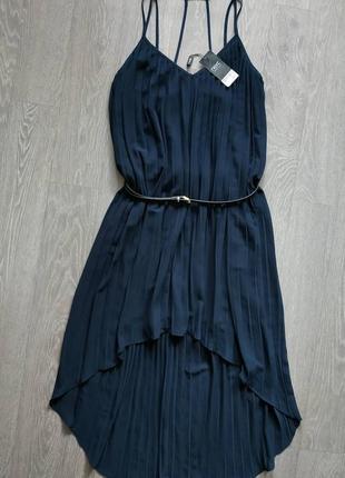 Обалденное платье плиссе  в бельевом стиле