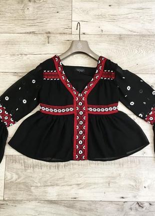 Блузка женская с topshop вышиванка