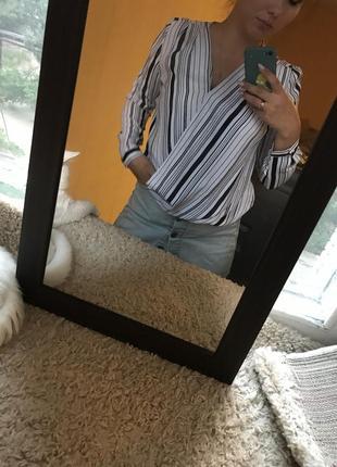 Полосатая рубашка от mohito