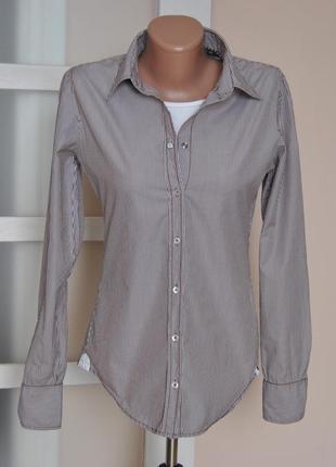 Хлопковая рубашка  marc o'polo /сорочка,блузка