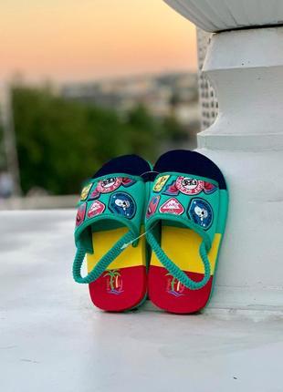 Детские сандали из пены