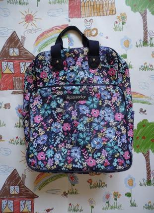 Рюкзак в квітковий принт