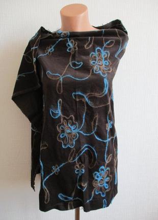Ткань для шитья одежды: отрез вельвета декорированного, германия