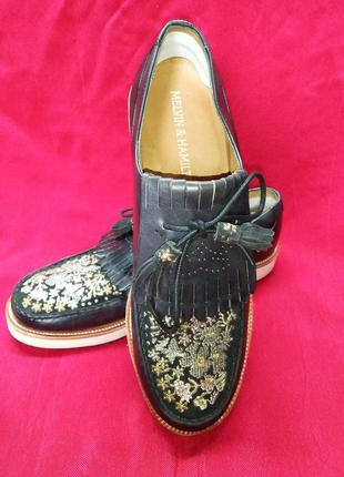 Туфли мокасины melvin & hamilton