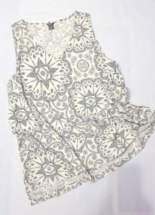 Lindex блузка блуза большой размер пог 69-72 см