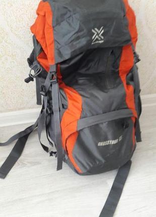 Туристический рюкзак saxifraga crosstour 65 литров