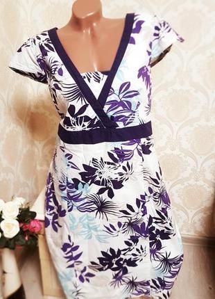 Идеальное летнее платье 100%хлопок