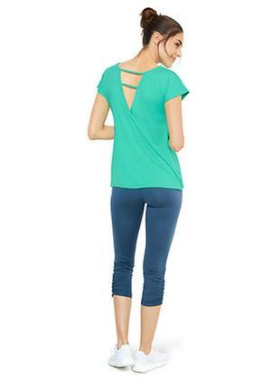 Яркая женская функциональная спортивная футболка от tcm tchibo (чибо), германия, xs-s