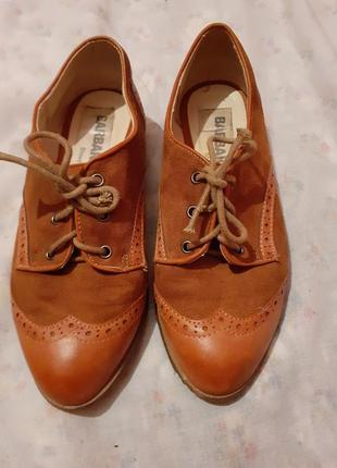 Туфли кожаные barbaru's
