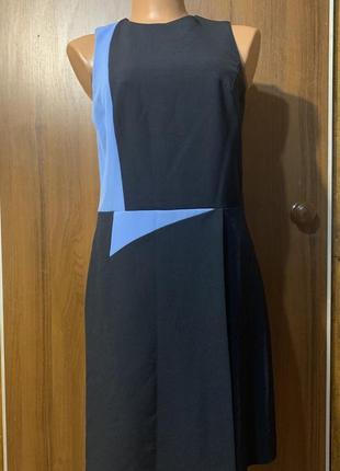 Фирменное платье офис оригинальное