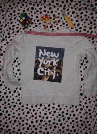Реглан, кофта, свитшот, new york city. h&m