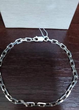 Срібний чоловічий браслет (серебро, срібло) 925 проба.