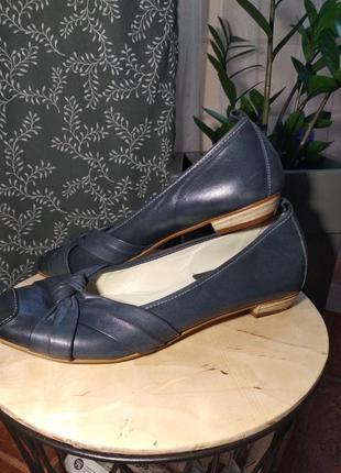 Акційна ціна! туфли из натуральной кожи johann