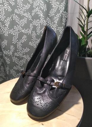 Акційна ціна! туфли из натуральной кожи paul green