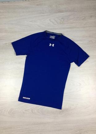 Фирменная комрессионая футболка under armour compression nike reebok odlo для спорта