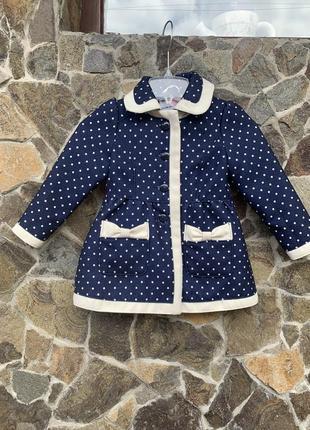 Next пальто для девочки