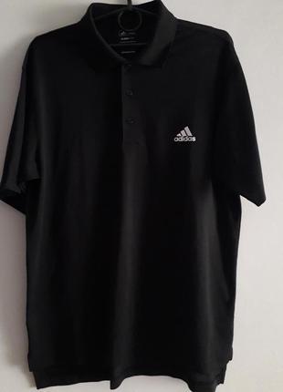 Легкая спортивная футболка поло adidas golf climalite