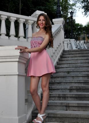 Супер платье из модного материала от berska