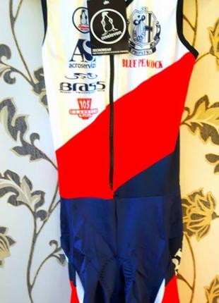Брендовый новый спортивный велосипедный костюм подростковый
