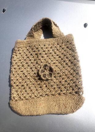 Вязанная сумка ручная работа hand made