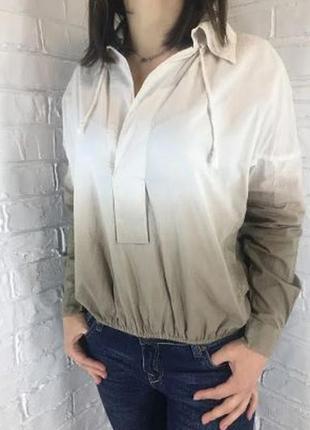 Новая с биркой блуза омбре