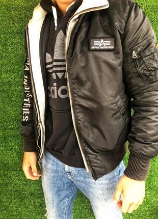 Куртка alpha industriea