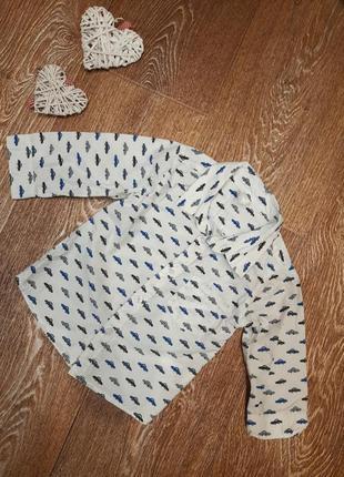Рубашка h&m р. 74