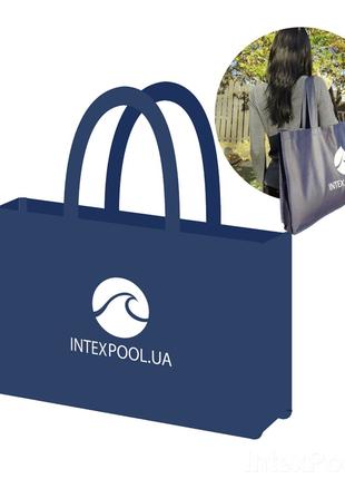 Эко-сумка «эксклюзив» intex 44408 для хранения матрасов, кроватей и пляжных аксессуаров