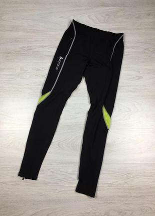 Крутые фирменные штаны брюки для бега, занятий спортом odlo run running!