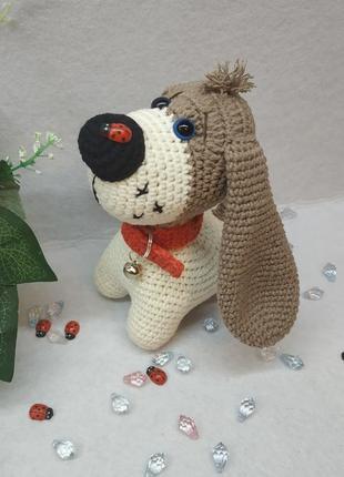 Интерьерная игрушка собачка ручной работы ❤️