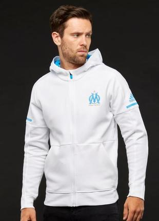 Худи свежая коллекция adidas ® performance olympique de marseille