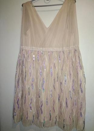 Воздушное фатиновое платье