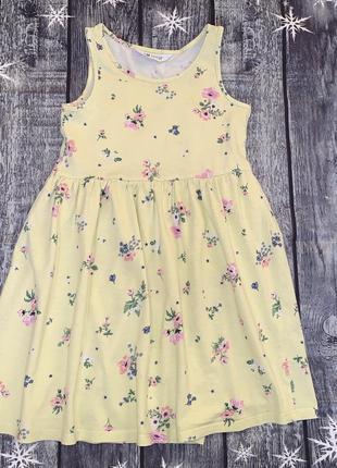Платье сарафан h&m 6-8 лет