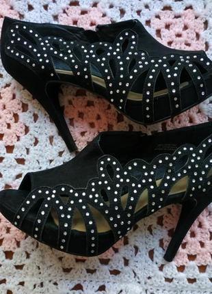 Женские босоножки # замшевые туфли # faihs