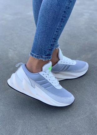 Оригинальные кроссовки adidas sharks boost light grey