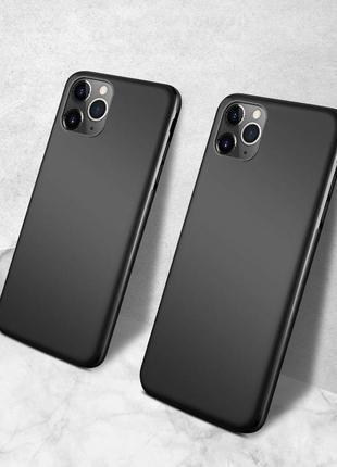 Черный магнитный силиконовый чехол бампер для iphone x, xs, 11 pro, 7, 8, 8 plus, xs max