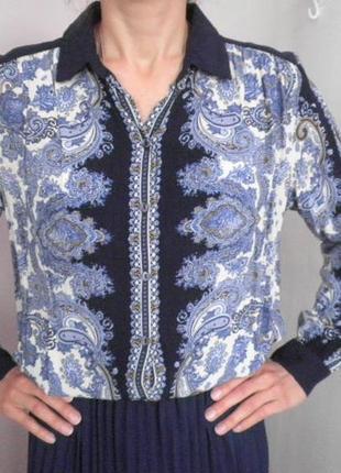 Рубашка турецкий принт вискоза
