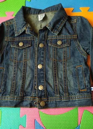 Джинсовый пиджак, куртка carter's