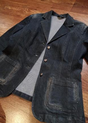 Новый джинсовый пиджак распродажа