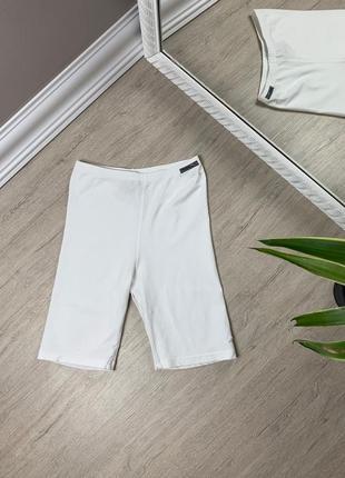 Reebok рибок женские лосины леггинсы штаны спортивные белые оригинал фитнес спорт