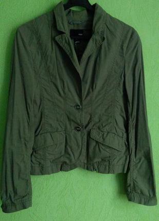 Куртка демисезонная без подкладки, жакет, пиджак.