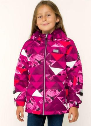 Зимняя лыжная термо куртка для девочек lego wear р.116 reima columbia lenne