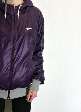 Женская двусторонняя куртка nike the athletic dept ( найк мрр)