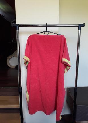 Полотенце халат пончо