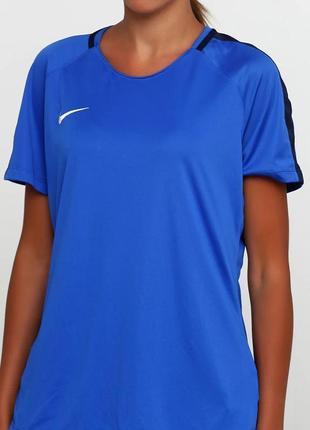 Футболка жен. nike training top women's academy 18 (арт. 893741-463)3 фото