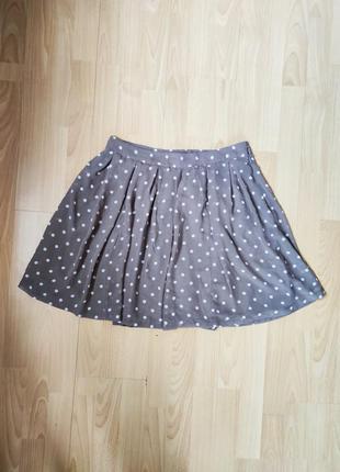 Классная юбка в горошек