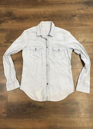 Рубашка джинс коттон gap оригинал