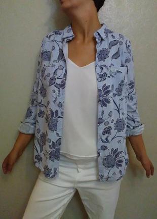 Рубашка,блузка, блуза,лен, льяная,оверсайз